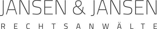 The logo of the law firm Jansen & Jansen