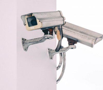 A surveillance camera