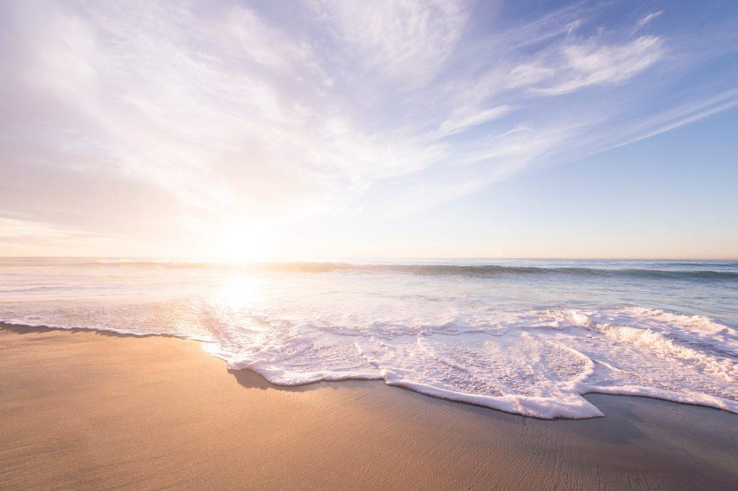 A beach
